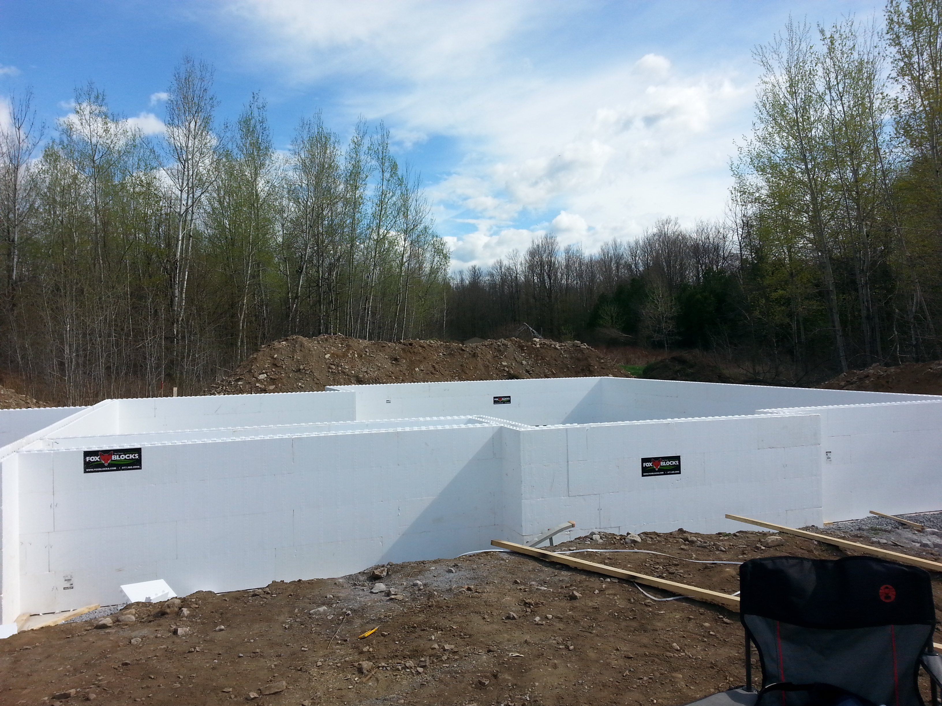 Week 2 Insulated Concrete Forms Icf Foundation The