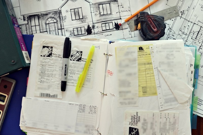 Tips to stay financially organized Budget for building a house